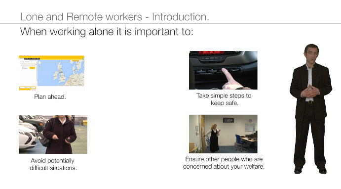 Lone and Remote Workers