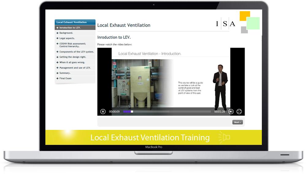 Local Exhaust Ventilation Training